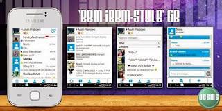 BBM MOD iBBM-Style GB By Arum Prabowo'Yk,