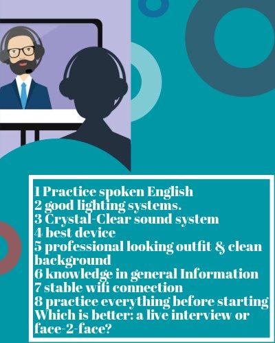 Overview, online job, interview