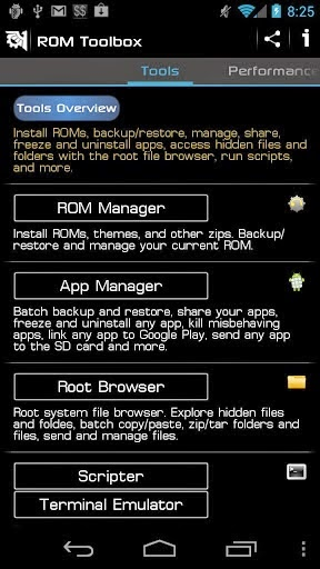 Download ROM Toolbox Pro v6.0.6 Patched Apk Full App