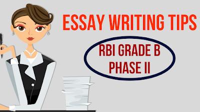 Essay Writing Tips For RBI Grade B 2018 Exam | BankExamsToday