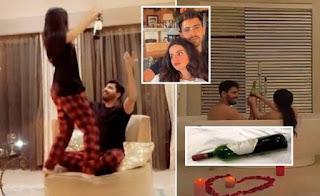 ناشطة سعودية تثير جدلا بفيديو مع زوجها عاريين في حوض الاستحمام!