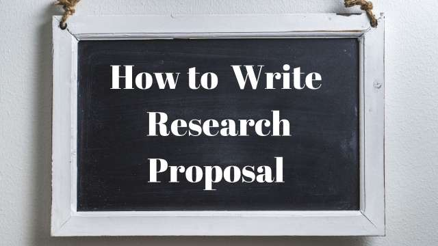 Guide to Writing a Good Research Proposal For Scholarship Application