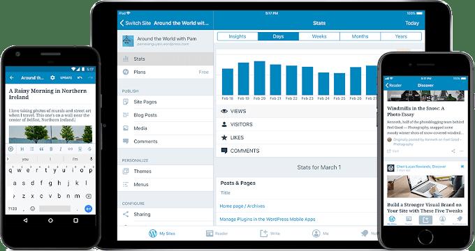 Wordpress, Platform Blog Gratis