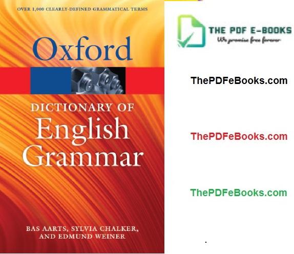 Oxford English Grammar PDF Download