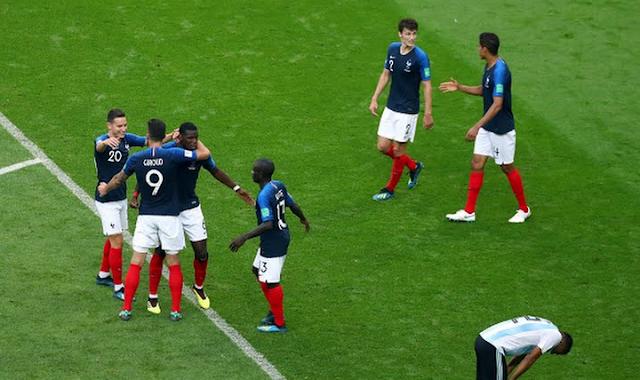 Prancis ke Perempat Final