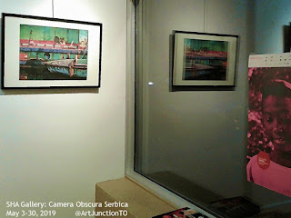 Camera Obscura Serbica at Gallery of Serbian Heritage Academy of Canada, photo by @artjunctionto
