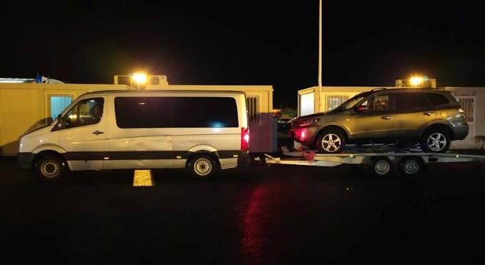 A belga hatóságok keresték a Csanádpalotán lefoglalt kocsit