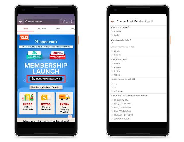 Cara Dapatkan Barangan Dengan Harga Murah Dan Daftar Member Di Shopee Mart