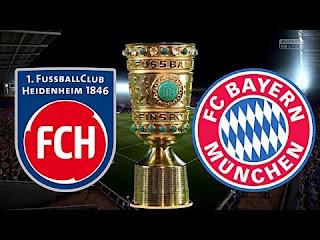 مباشر مشاهدة مباراة بايرن ميونيخ وهايدنهايم بث مباشر 3-4-2019 ربع نهائي كاس المانيا يوتيوب بدون تقطيع
