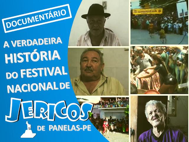Documentário conta a história de origem do Festival Nacional de Jericos da cidade de Panelas