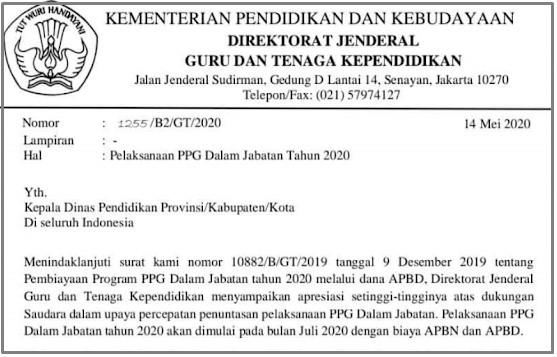 Jadwal Terbaru Pelaksanaan PPG Daljab Tahun 2020, Kabar Gembira buat Peserta Pretest 2019!