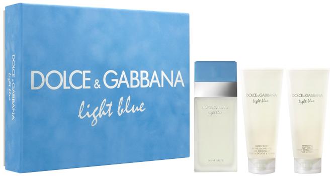 Blue De Gabbana NatalCoffret Dolceamp; EssêncianewsSugestão Light xeWCoQdrB