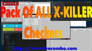 Pack Of ALL X-KILLER Checkers