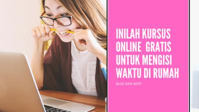 kursus online gratis bersertifikat