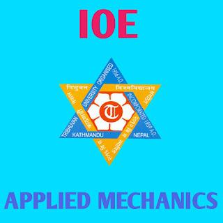 Applied mechanics note of ioe