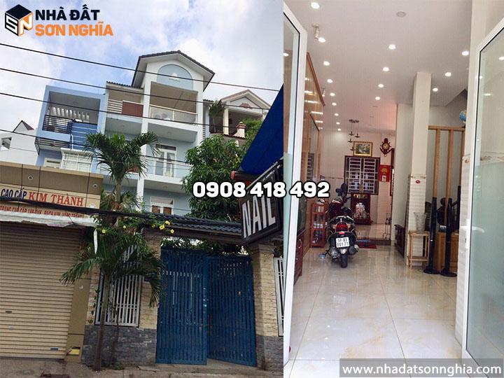 Nhà biệt thự cho thuê Thống Nhất phường 10 Gò Vấp