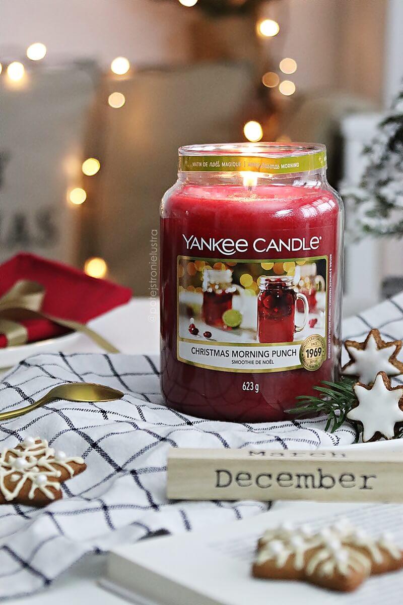 yankee candle christmas morning punch recenzja na blogu