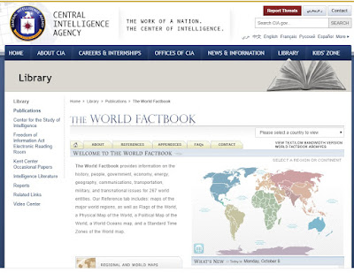 CIA, The World Factbook, China