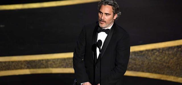 Joaquin Phoenix leva prêmio de Melhor Ator por Coringa