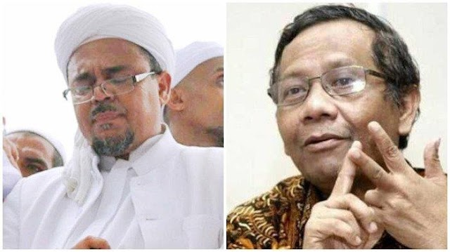 Mahfud MD Bongkar Kebohongan Rizieq Shihab Tentang Surat Pencekalan dan Itu Diakui Juru Bicara Rijieq