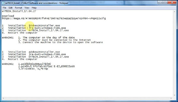wiTech-17.04.27-install-1 How to set up wiTech MicroPod II V17.04.27 on Windows 7 Drivers Software
