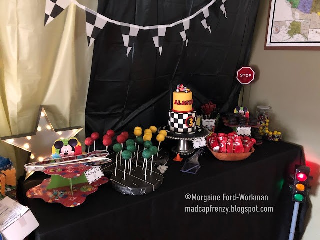 Madcap Frenzy Roadster Racer 3rd Birthday Party