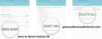 Galaxy S8 Hard Reset / Factory Reset