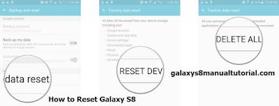 Galaxy S8 Hard Reset / Factory Reset