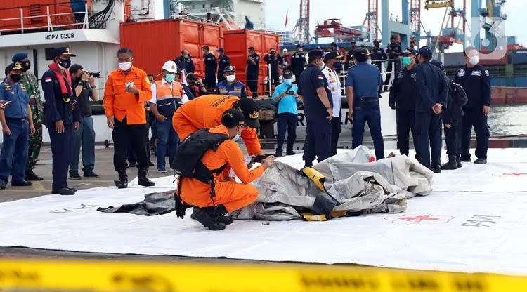 KNKT: Sriwijaya Air Tidak Meledak di Udara dan Mesin Masih Berfungsi Sebelum Hantam Air