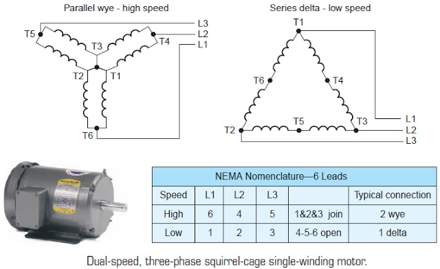Electrical and Electronics Engineering: Dual-speed, three-phase ...