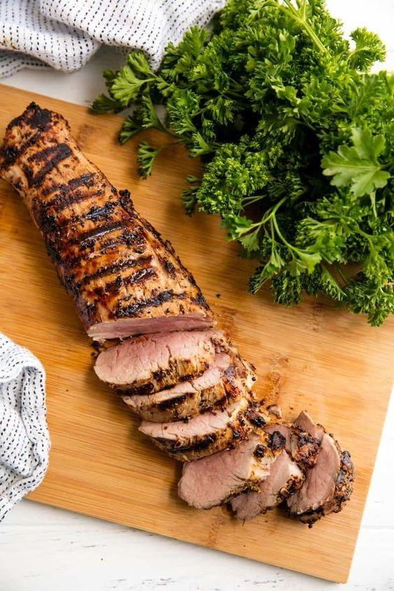 Perfectly Juicy Grilled Pork Tenderloin