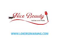 Loker Semarang Terapis Eyelash & Nail Art di Nice Beauty
