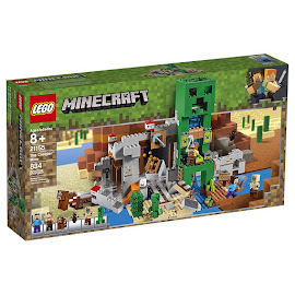 Minecraft The Creeper Mine Lego Set