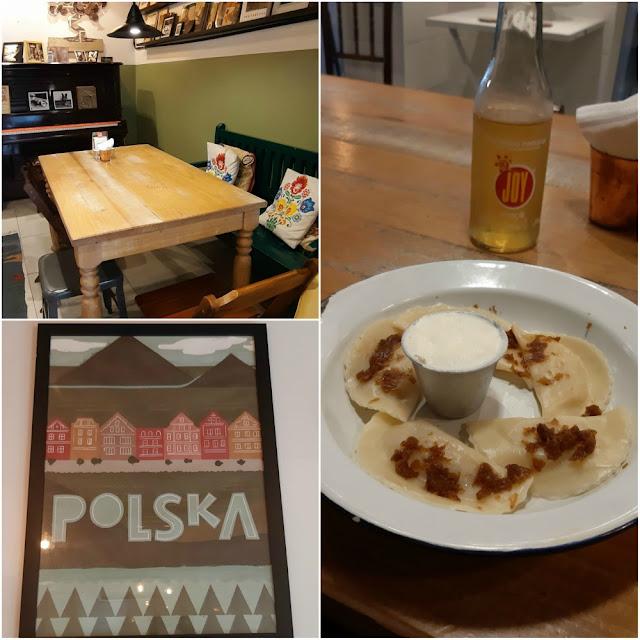 Onde comer pierogi em São Paulo? Polska café & pierogi