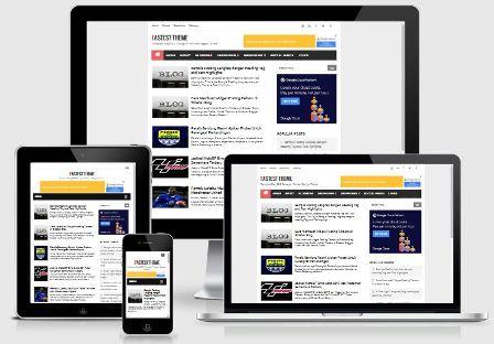 Fastest Theme - Template Blog SEO Responsive Paling Cepat dan Ringan