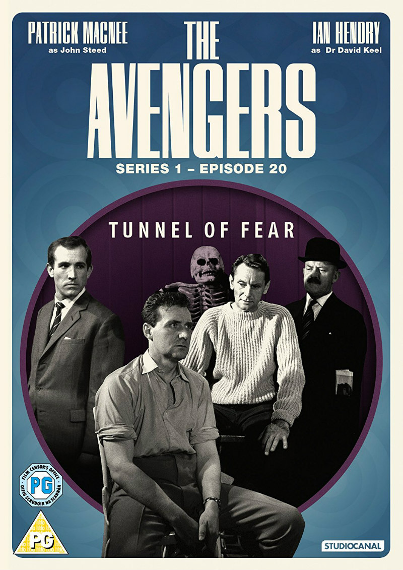 THE AVENGERS: TUNNEL OF FEAR dvd
