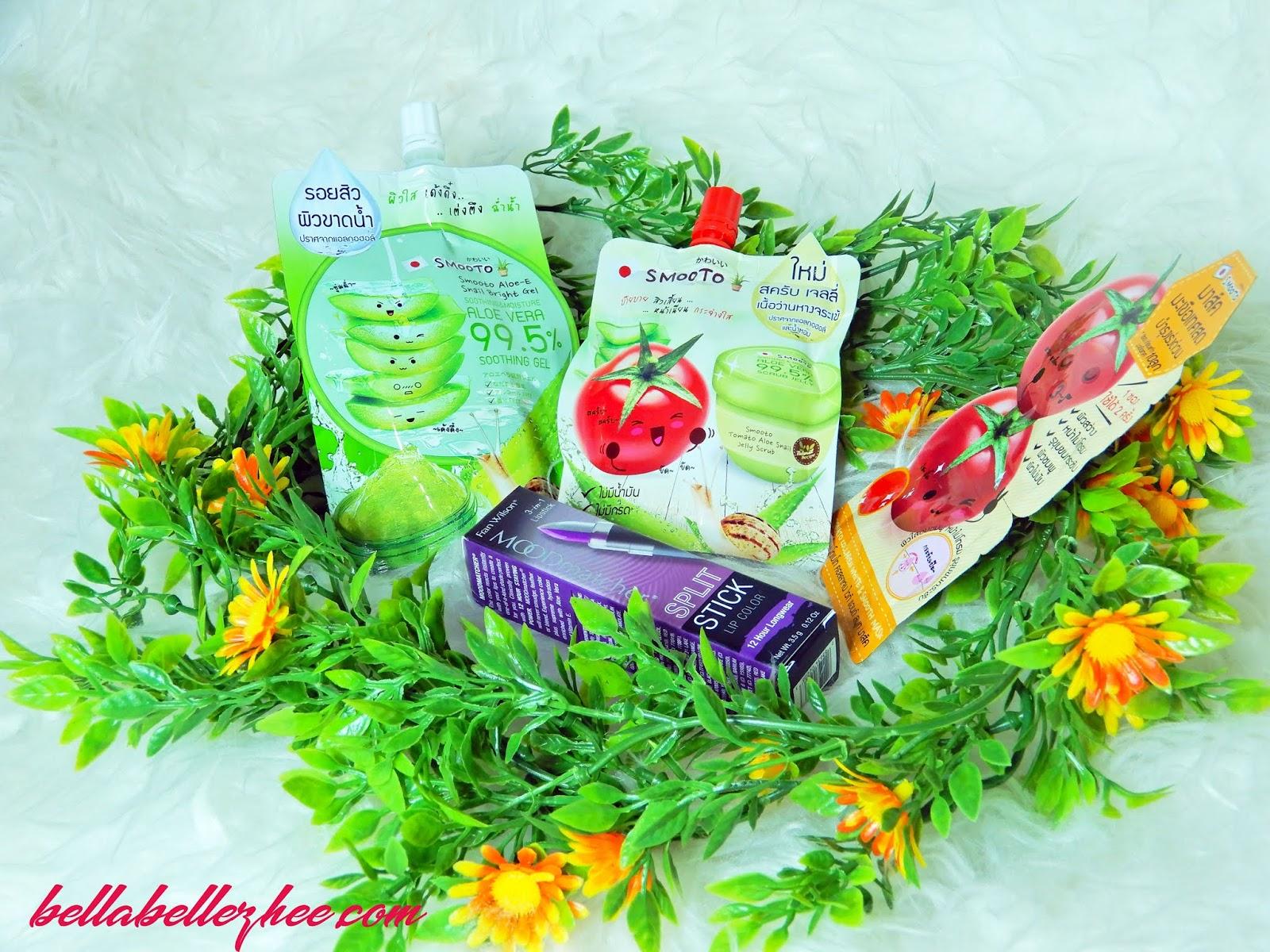 Review Smooto Indonesia Tomato Aloe Snail Jelly Scrub