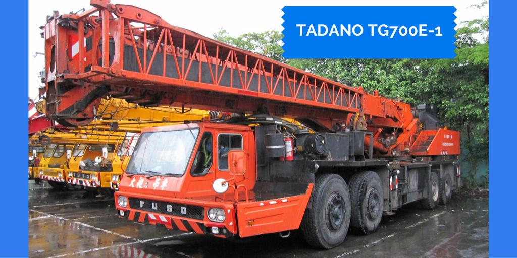 Tadano TG700E-1 Hydraulic Truck Crane