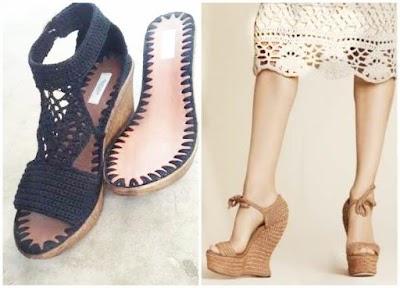 Zapatos tejidos crochet proyectos nuevos