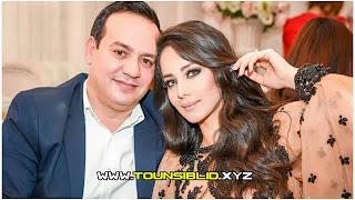 إنفصال علاء الشابي عن زوجته رملة الذويبي