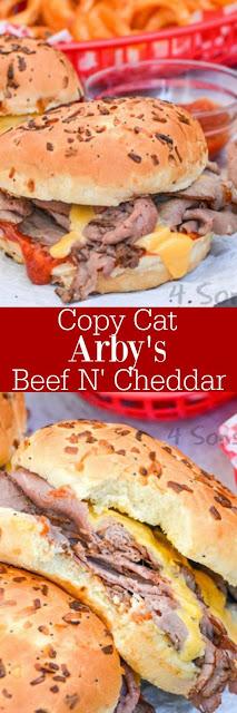 Copy Cat Arby's Beef N' Cheddar