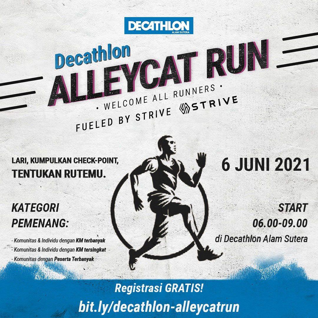 Decathlon Alleycat Run • 2021