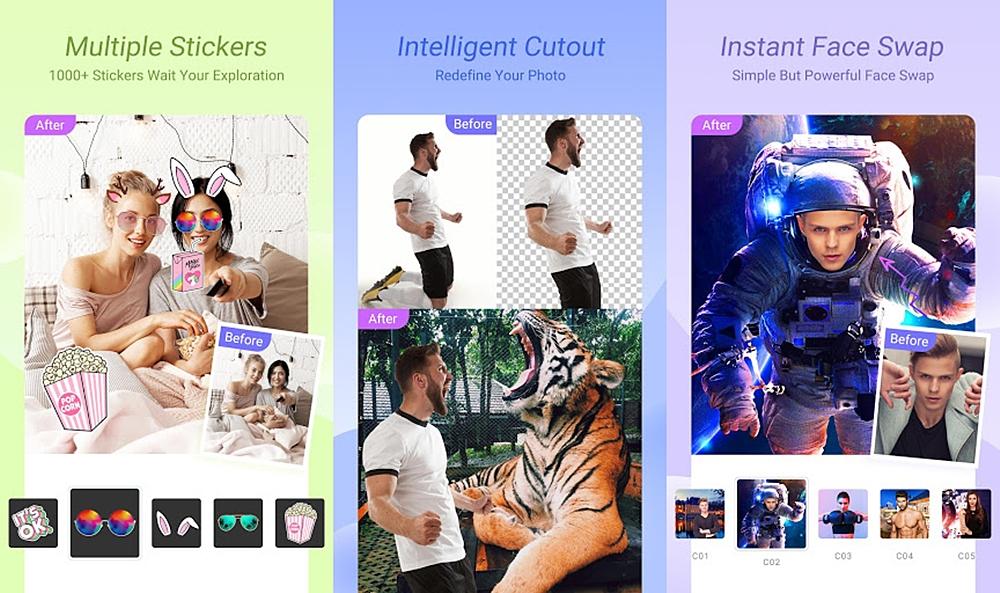 تحميل برنامج قص وتعديل الصور وتغيير خلفية الصورة وجعلها شفافة للاندرويد