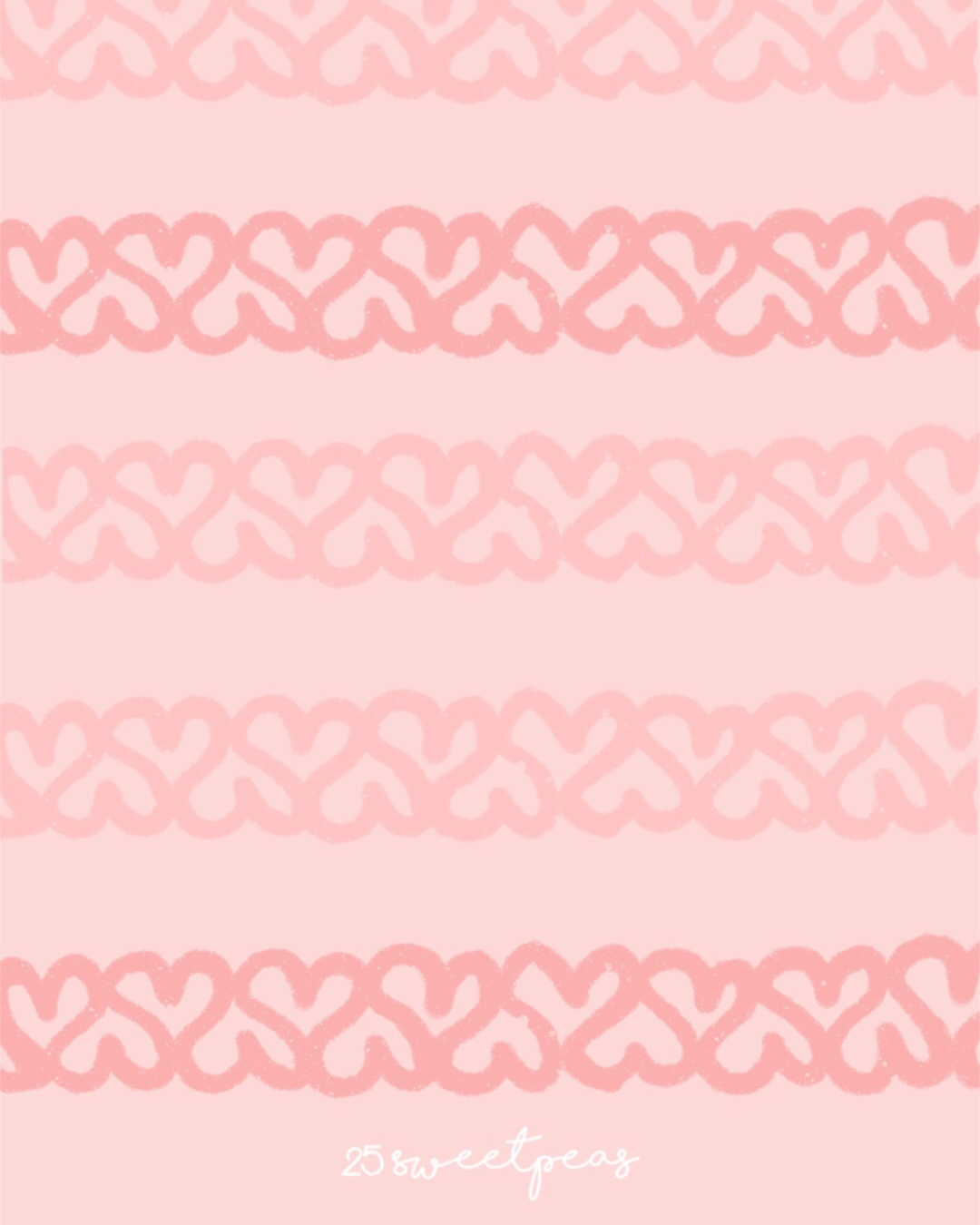 25 Sweetpeas Valentines Wallpaper
