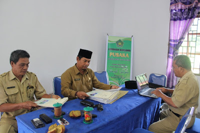 Kakan. Kemenag Tanjungbalai Laksanakan Monitoring Ke KUA Datuk Bandar Timur