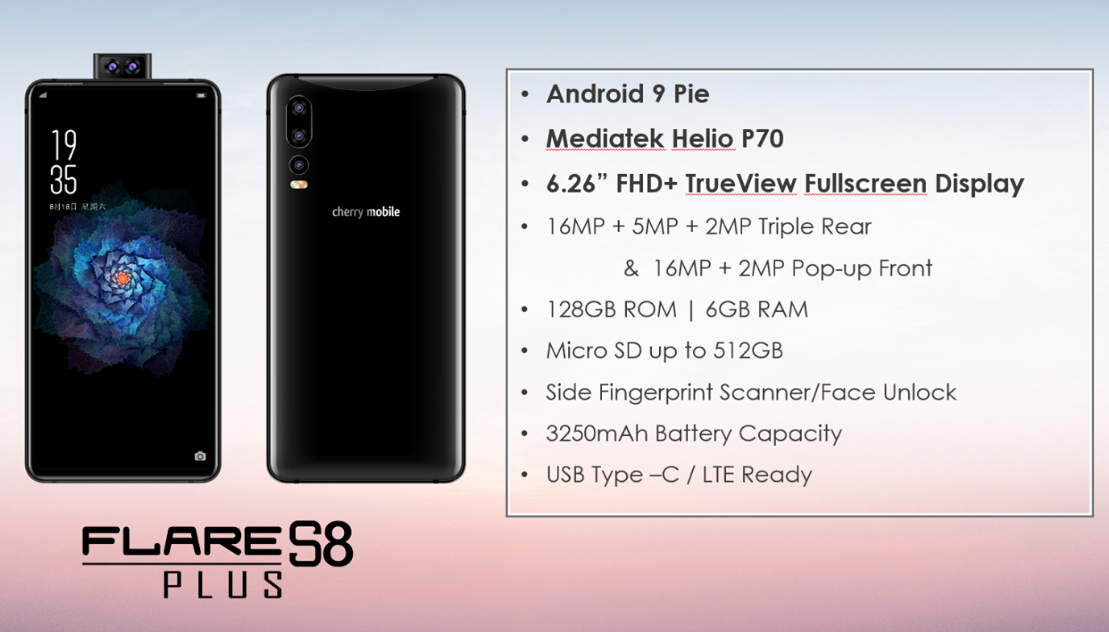 Cherry Mobile Flare S8 Plus Specs