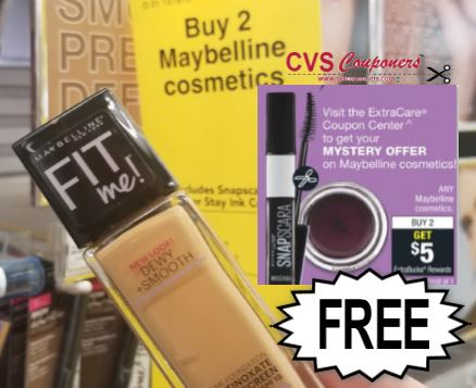 FREE Maybelline Fit Me Foundation