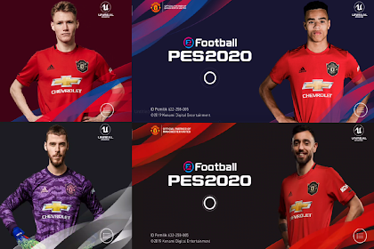 Startscreen Pack Manchester United - IDSPHONE Patch For PES 2020 Mobile Versi 4.3.1