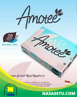 AMOTEE Glutation dan Collagen Ikan  20 Sachet