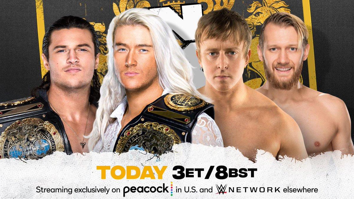 Cobertura: WWE NXT UK (22/07/2021) – Em busca de redenção!